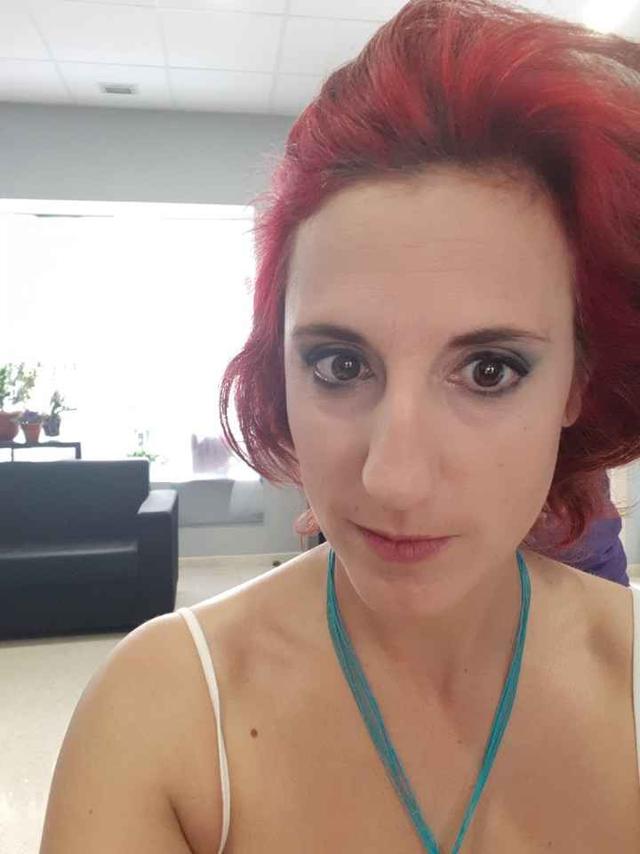 Prueba maquillaje y peinado!! - 9
