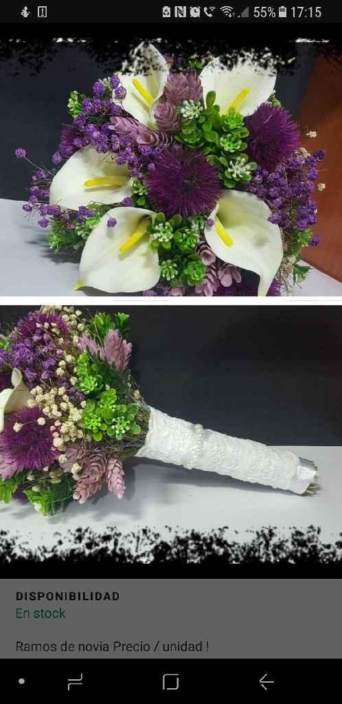 Indecisa ramo de novia - 4