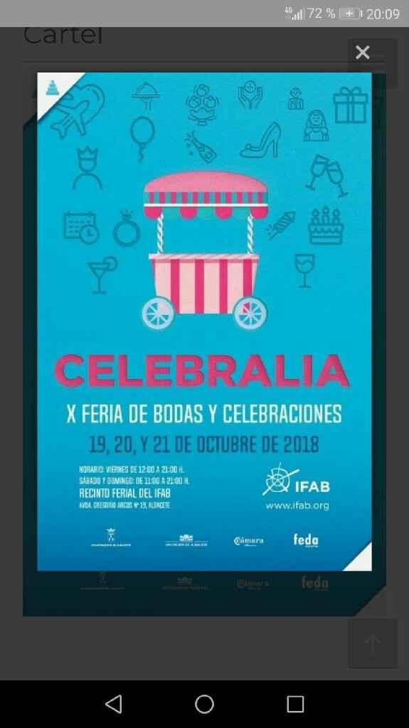 Fechas Celebralia 2017 - 1