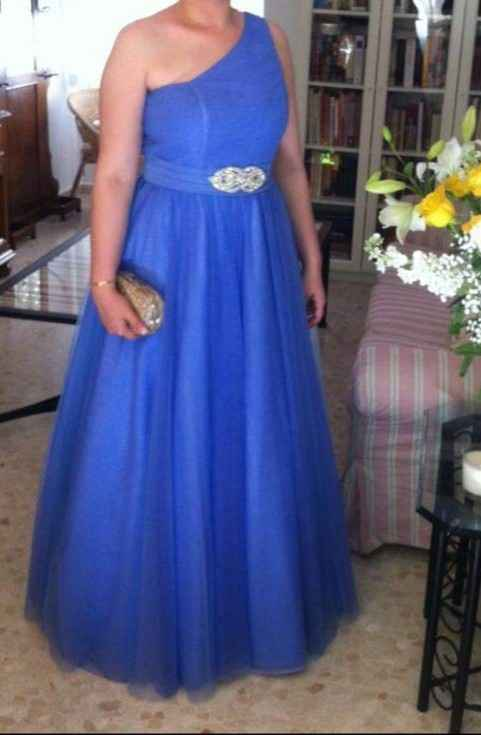 Reutilizar traje novia renovación votos 10años - 1