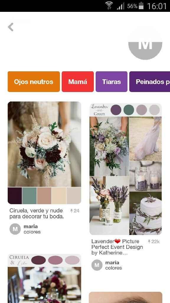 Elección color boda - 1