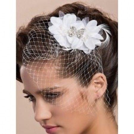 Tocado Con Redecilla O Flores Belleza Foro Bodas Net