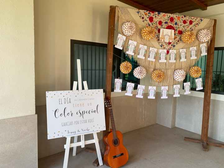 Decoración boda flamenca - 1