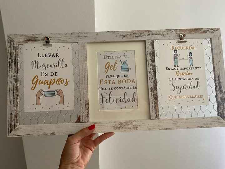 Mascarillas personalizadas como detalles boda - 1