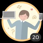 Geek (20). Te encanta curiosear todos los artículos y empaparte con nuestras ideas y consejos. Ya has comentado en 20 artículos, así que te has ganado a pulso esta medalla.