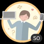 Geek (50). Te encanta curiosear todos los artículos y empaparte con nuestras ideas y consejos. Ya has comentado en 50 artículos, así que te has ganado a pulso esta medalla.