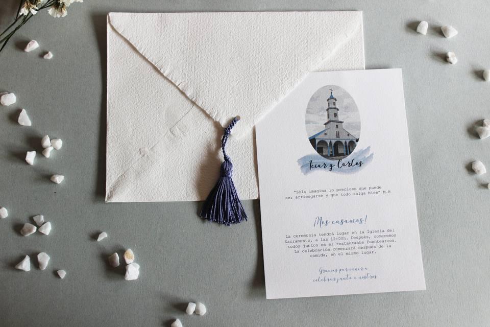 Invitación Mykonos