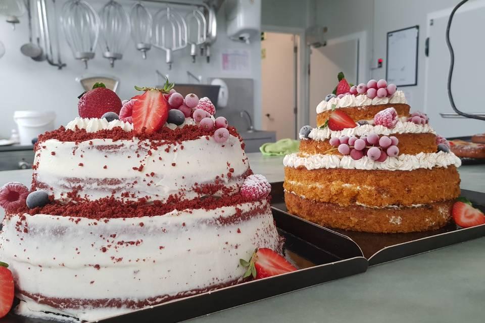 Red velvet y carrot cake