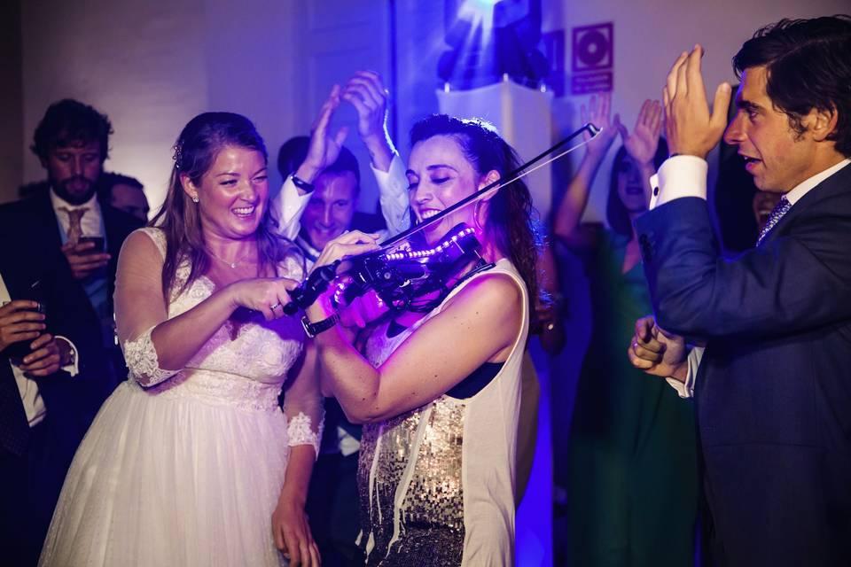 Violinista para boda en Málaga