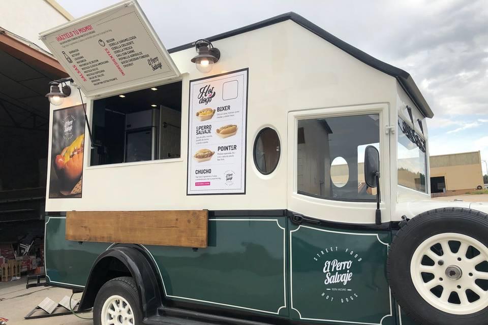 El perro salvaje - street food