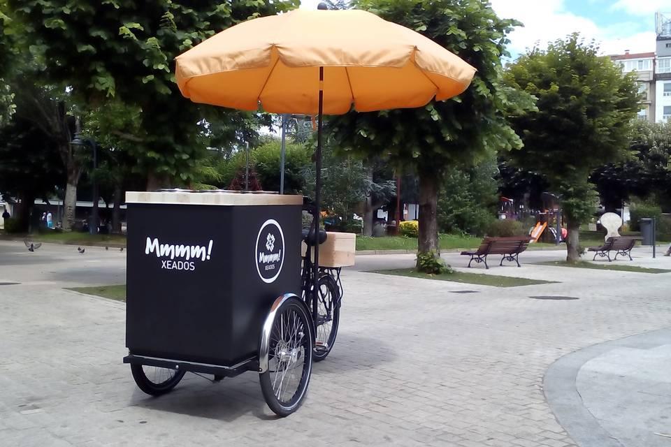 Bicicleta helados