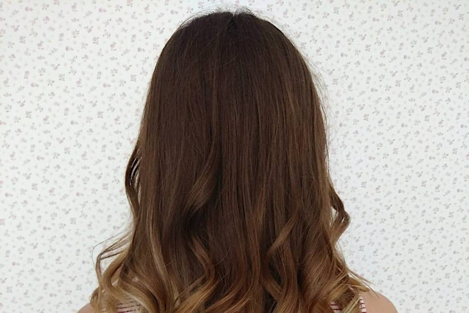 Peinado+balanyage