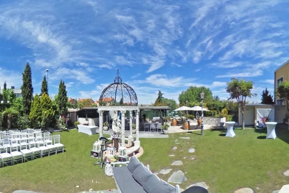 Jardín finca 2019