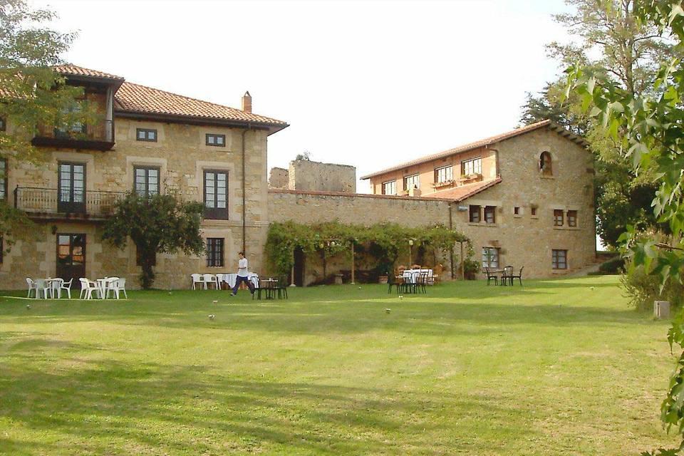 Jardines de boda Hotel Casona Torre de Quijas