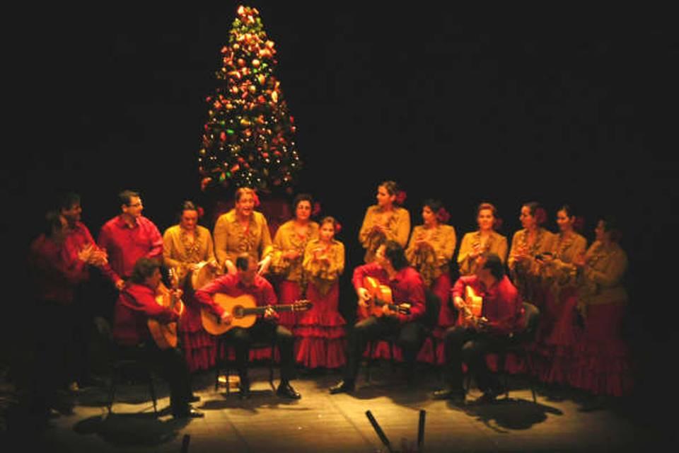 Actuación navideña