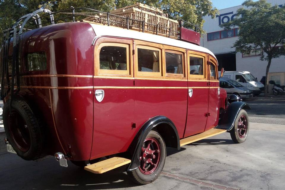 Microbús de época 7 plazas
