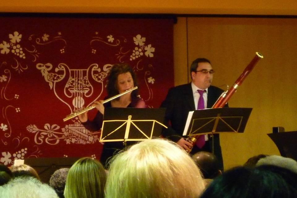 Dúo flauta y fagot