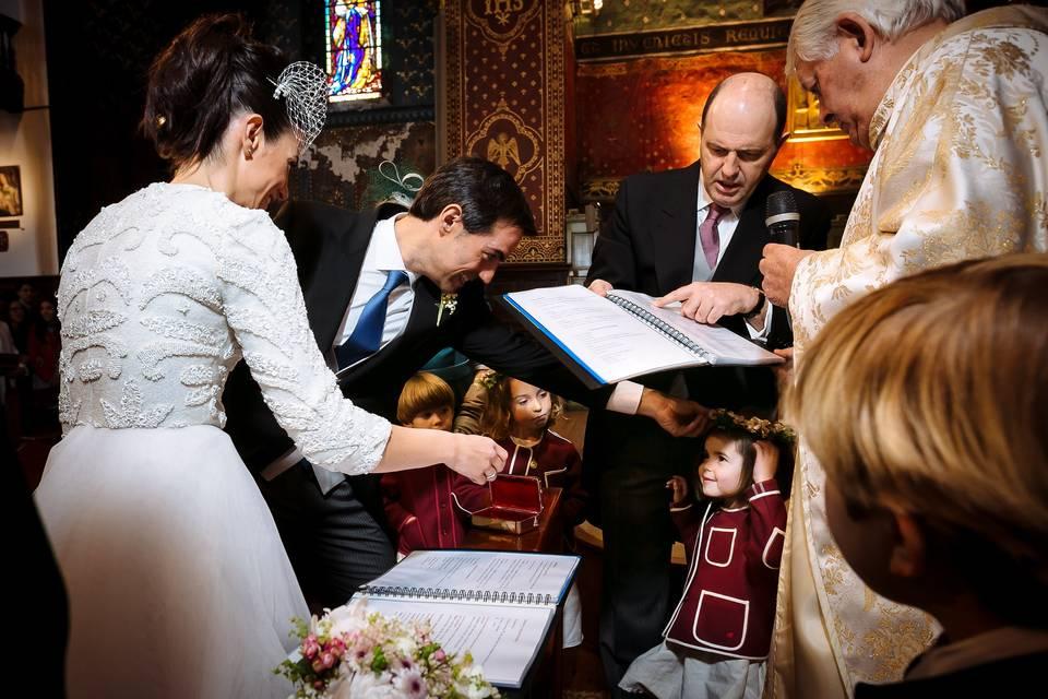 Ceremonia en San Jean de Luz
