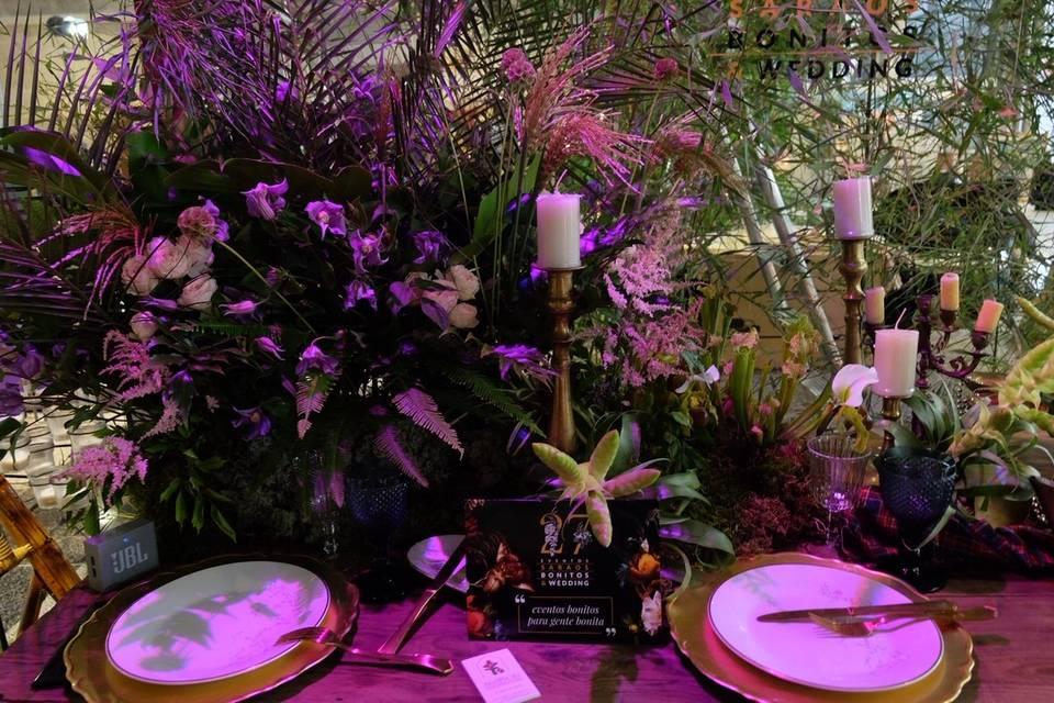 Banquete decorado