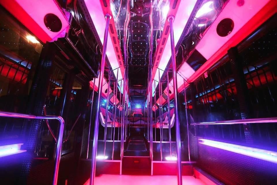 Partybus para traslado a bodas