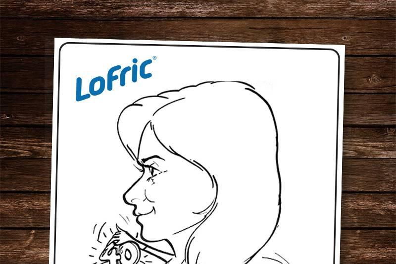 Caricatura como souvenir boda