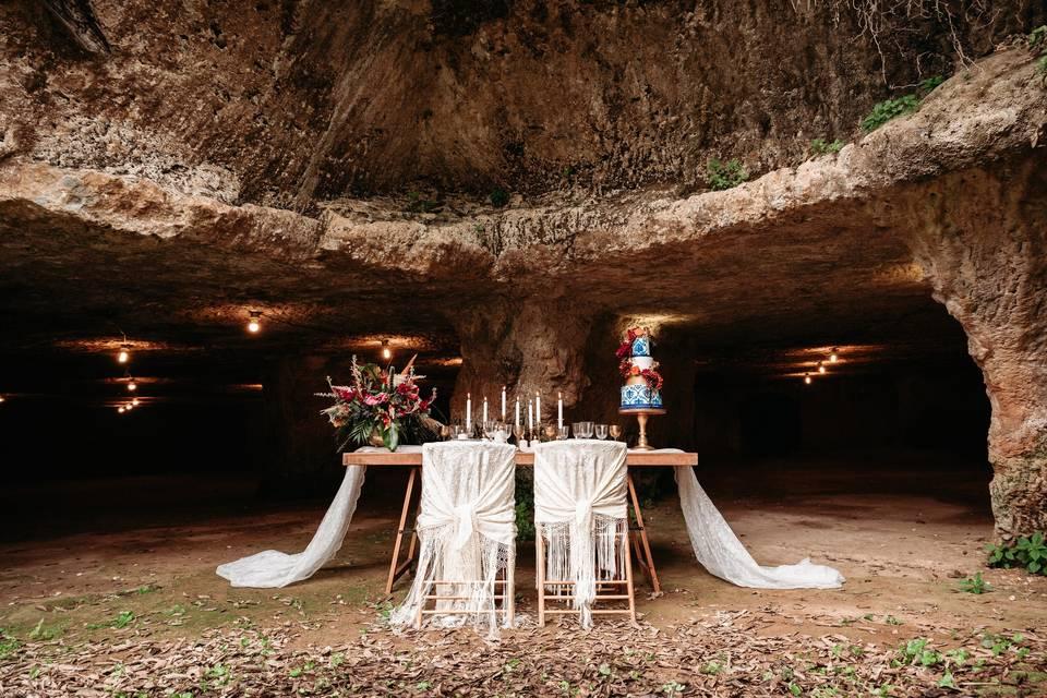 Bodas en Cuevas Romanas
