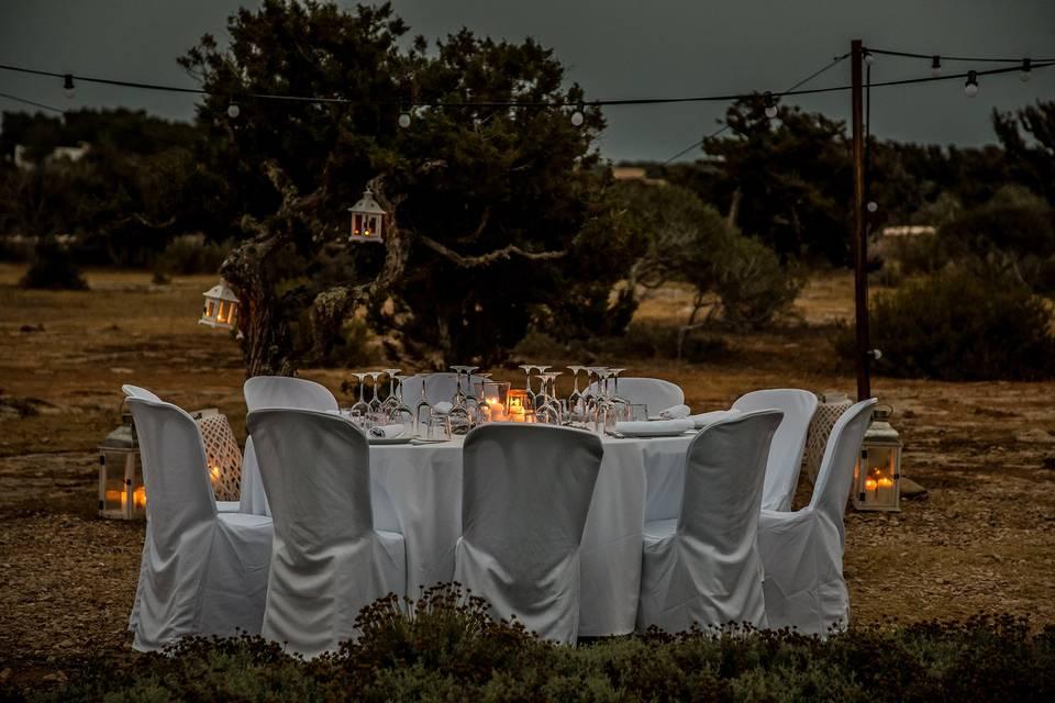 Set up wedding sa paella