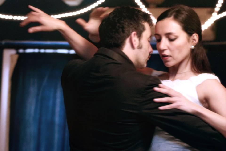 Coreografía tango para boda