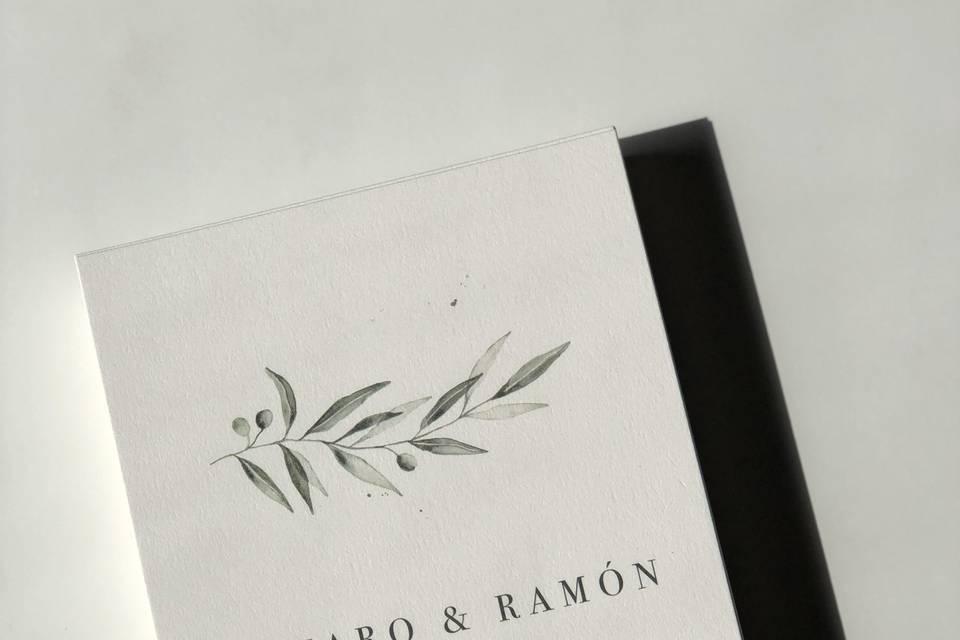 A2gráfica - invitación olivo
