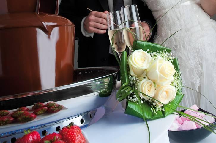 Fondue - Alquiler fuente de chocolate