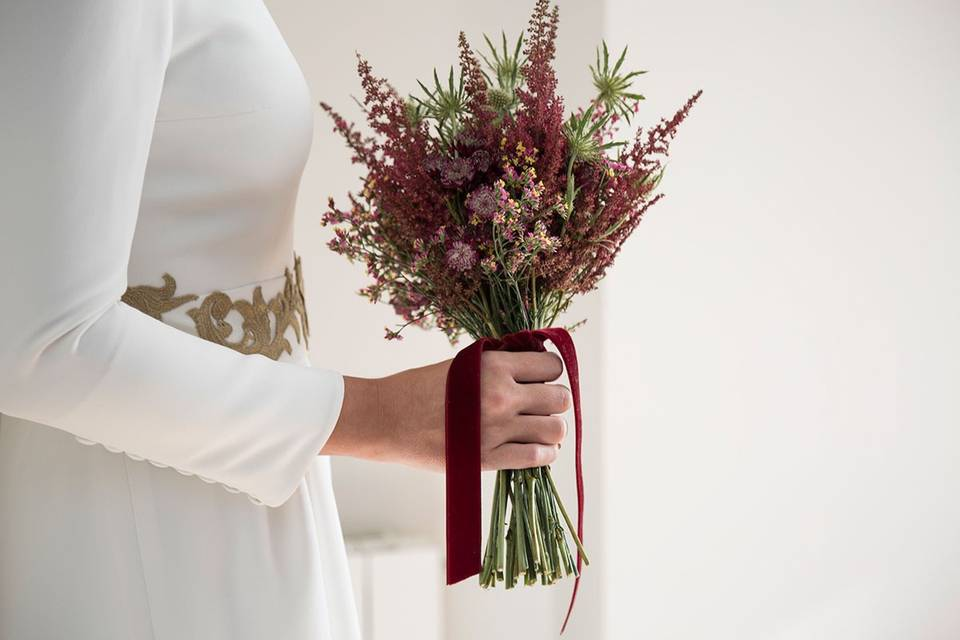 Cúrcuma - Arte floral