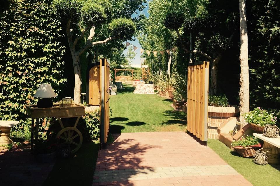 Entrada Jardin Chopera