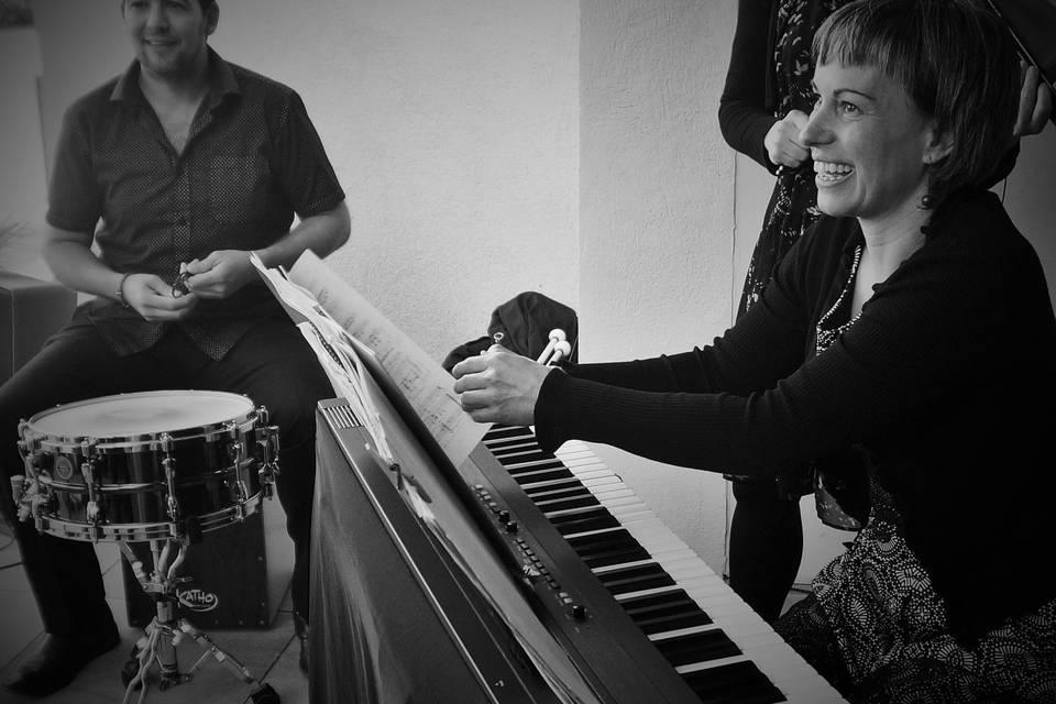 Lídia Papió, piano