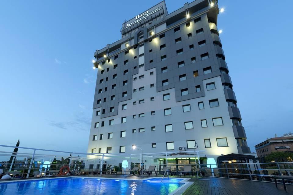 Terraza Hotel Sevilla Center