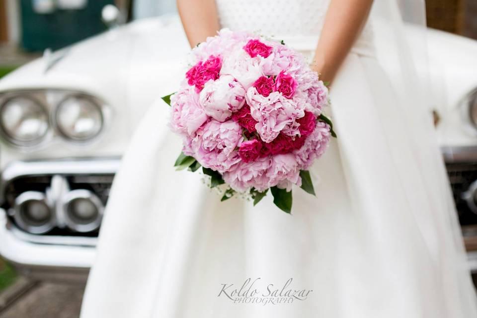 Flowers & Car