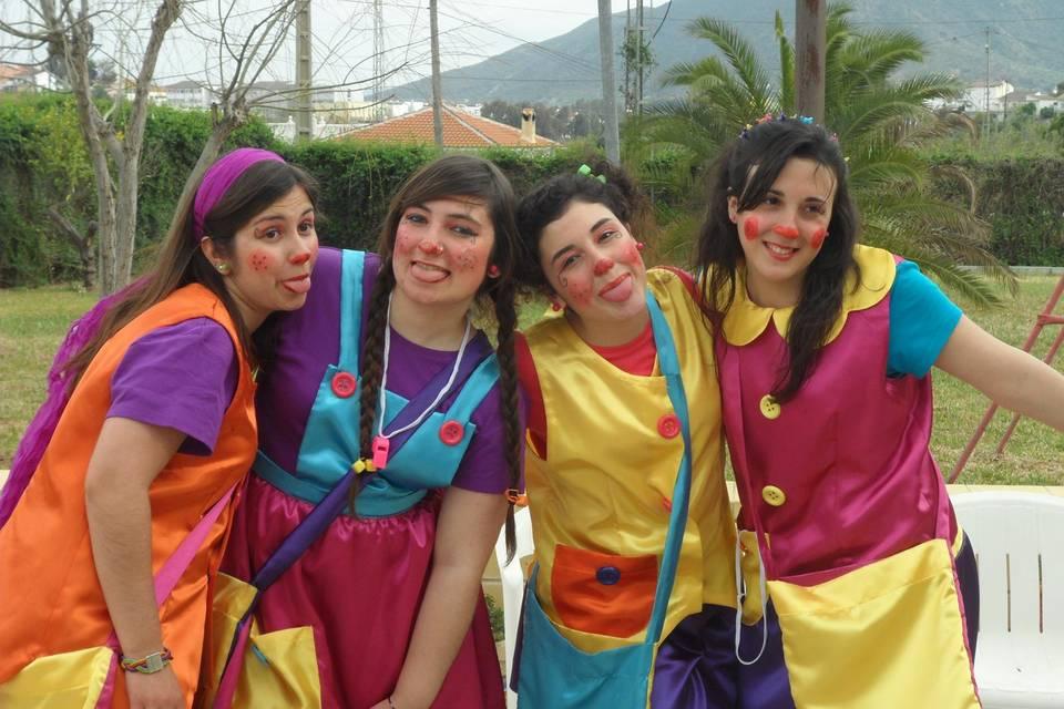 Grupo de animación fantasía