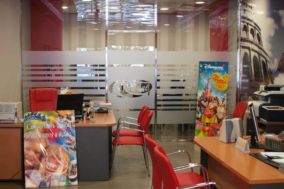 Área principal de la Agencia