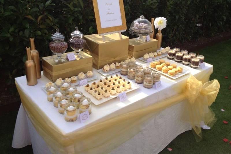 Sweet Table romántico