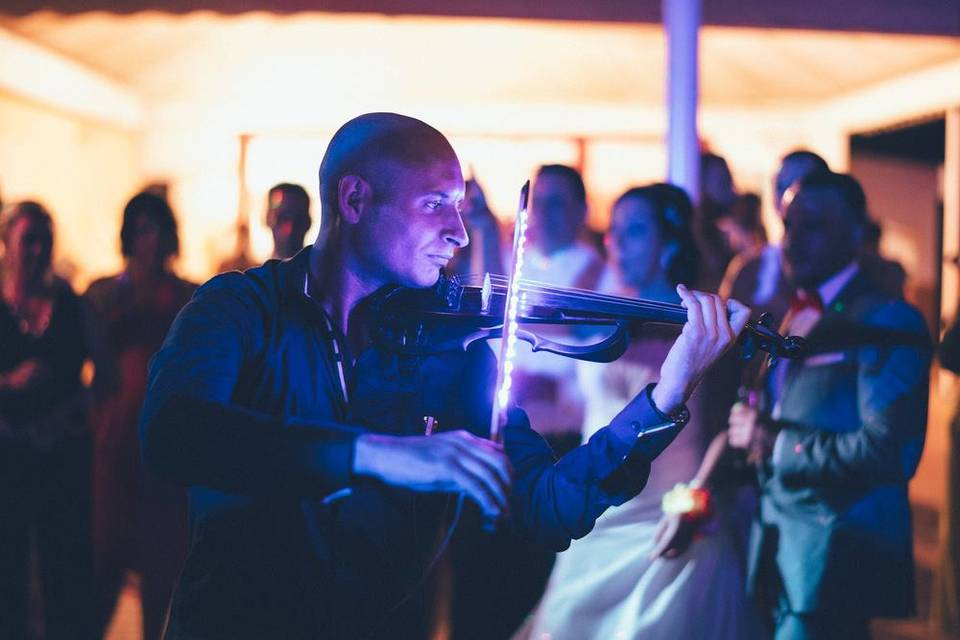 Víctor Martín violín