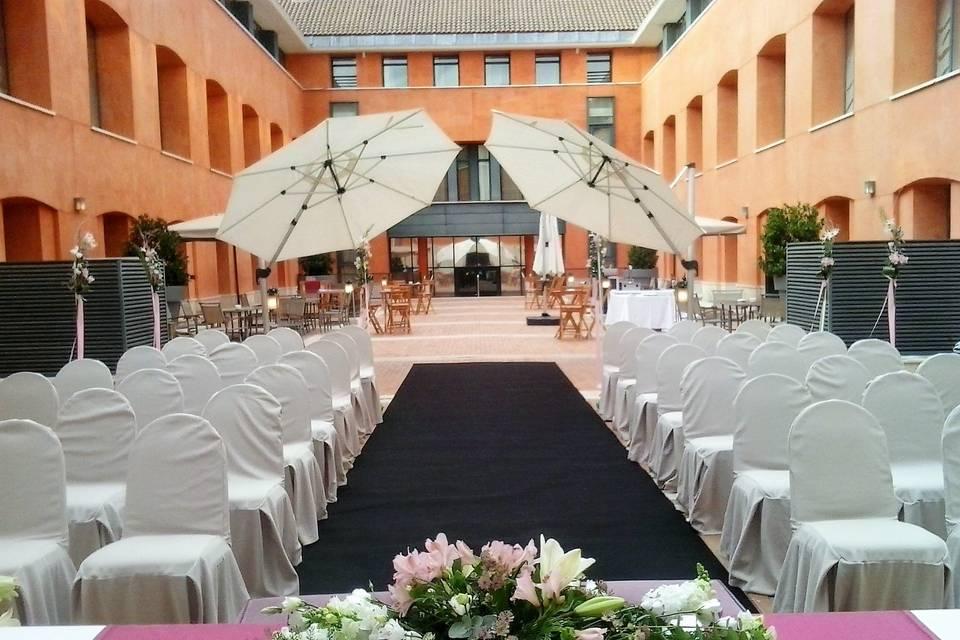 La ceremonia civil