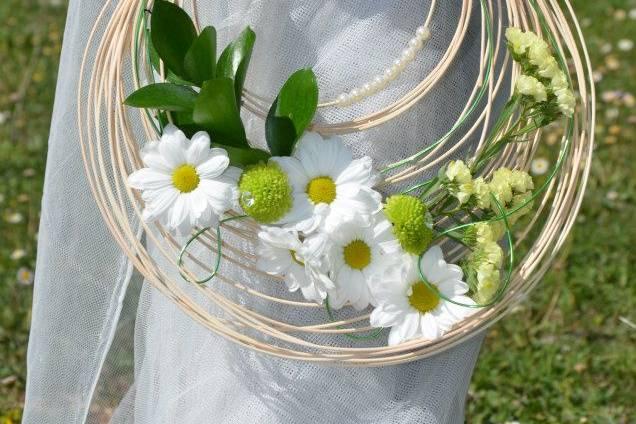 Aro ramo de novia