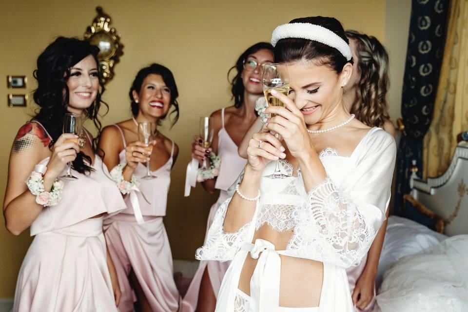 Preparando de boda
