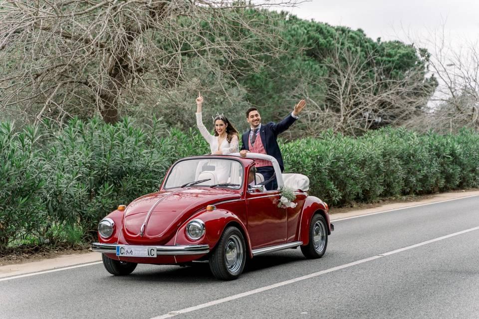 Cabriolet Wedding Car