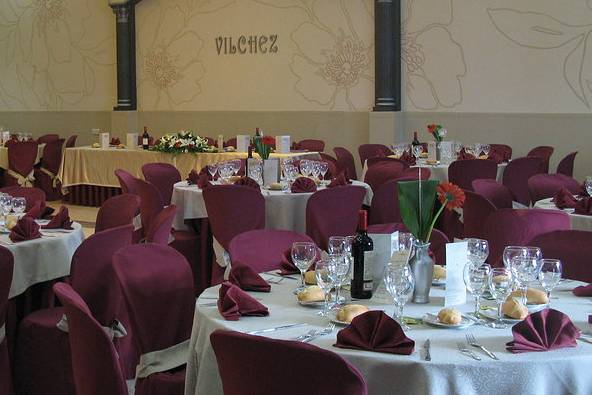 Gran salón para el banquete