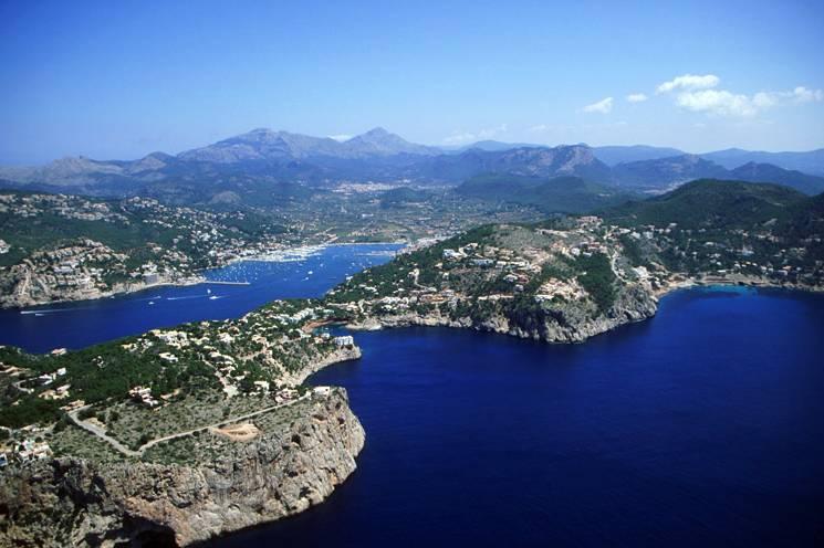 El asombroso paisaje de Mallorca.
