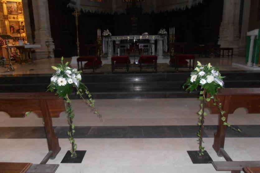 Centros para el altar