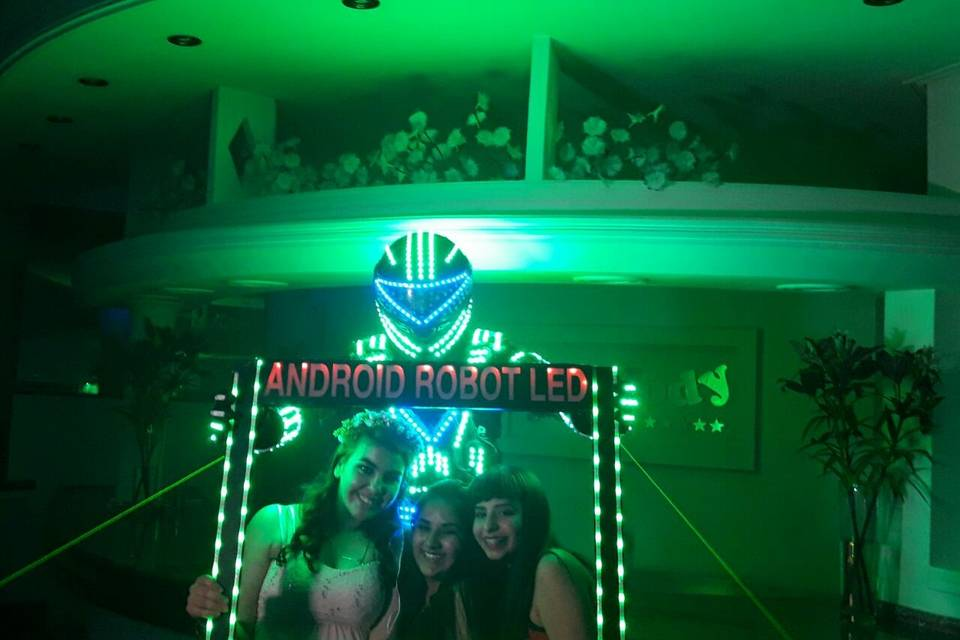 Android Robot Led