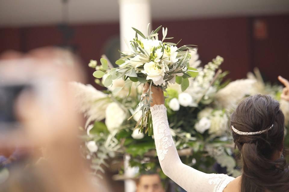 Atrezo Floristas de Miguel A. Salazar