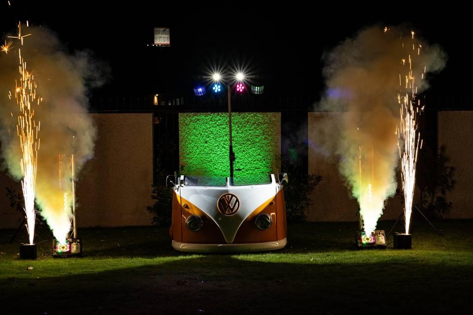 Volkswagen T1 Cabina DJ
