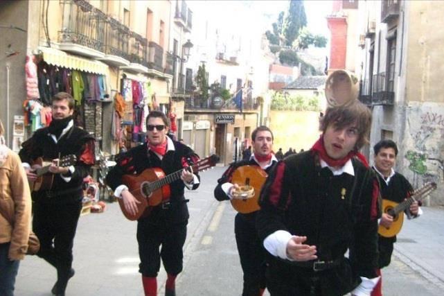 La tuna por Granada